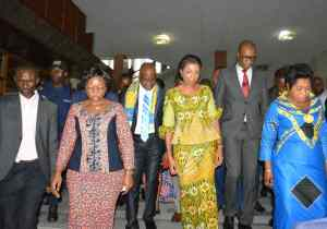 RDC-Assemblee nationale: Jeanine Mabunda a déposé ce jeudi sa candidature