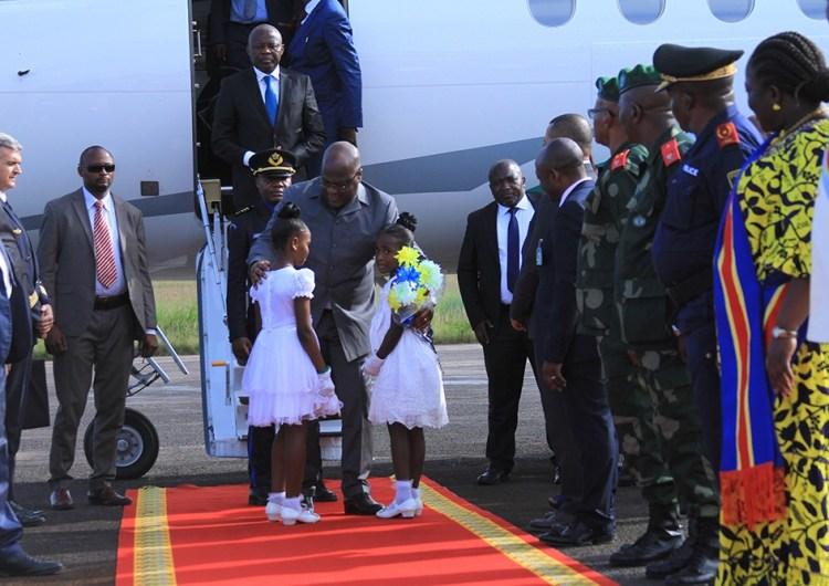 RDC: F. Tshisekedi à Kisangani pour inaugurer plusieurs infrastructures routières