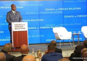 RDC/USA: le grand oral de F. Tshisekedi devant les universitaires et autres experts américains