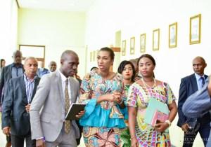 RDC: J. Mabunda inspecte les services de l'administration de l'Assemblée nationale