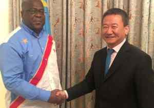 "Ambassadeur Huang Xia( ONU) : "" Le président Tshisekedi symbolise le changement…"""