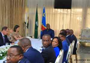 F. Tshisekedi fixe ses priorités aux ambassadeurs de l'UE: le social, la sécurité et le climat des affaires