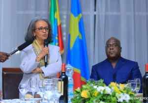 RDC-Ethiopie: Sahle-Work Zewde et F. Tshisekedi en passe d'ouvrir une nouvelle page d'histoire