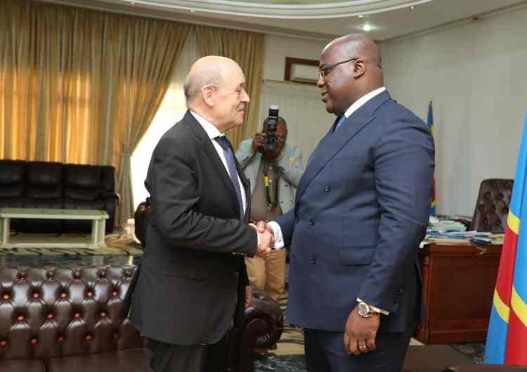 Appui de la France à la RDC: 300 millions d'euros pour le quinquennat de Tshisekedi