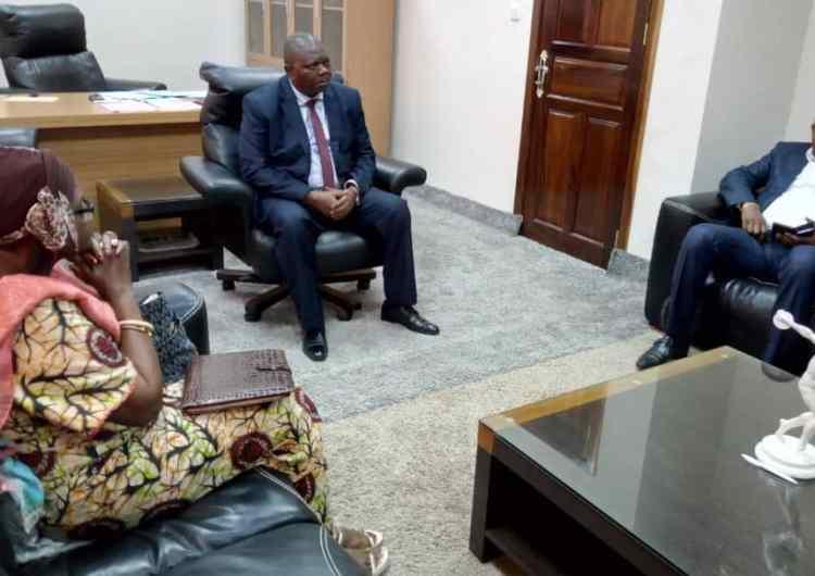 CAN 2019 : l'ambassadrice de la RDC en Égypte à Kinshasa pour les préparatifs