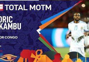 CAN 2019/RDC- Zimbabwe : Bakambu élu homme du match