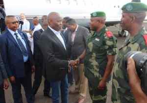 RDC/Bukavu : Vital Kamhere réconforte les victimes de l'incendie