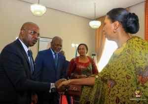 Assemblée Nationale: Jeanine Mabunda a reçu une délégation du FAO