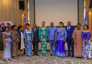 RDC/Genre : Jeanine Mabunda donne le go de l'atelier sur le dialogue parlementaire