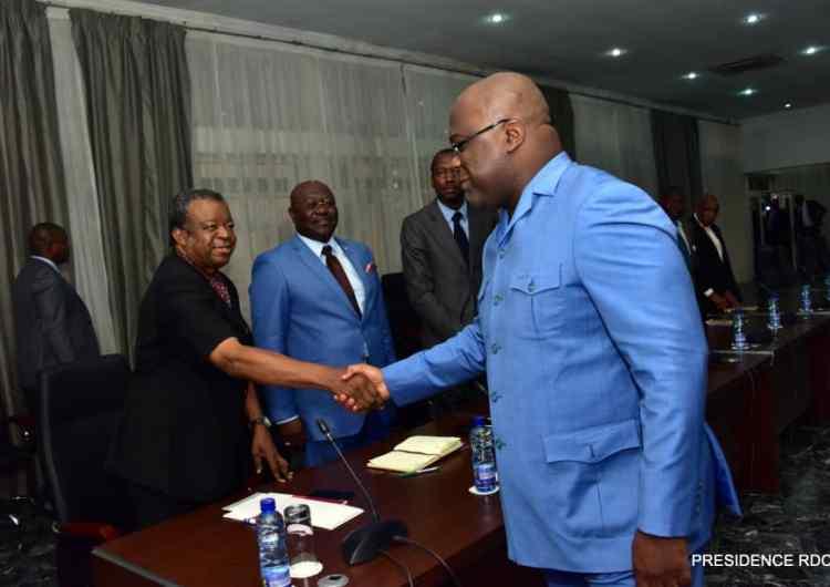 Ebola : F. Tshisekedi remobilise son État-major