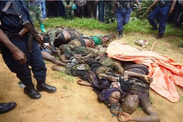RDC/Beni : 9 morts ce dimanche dans différentes attaques