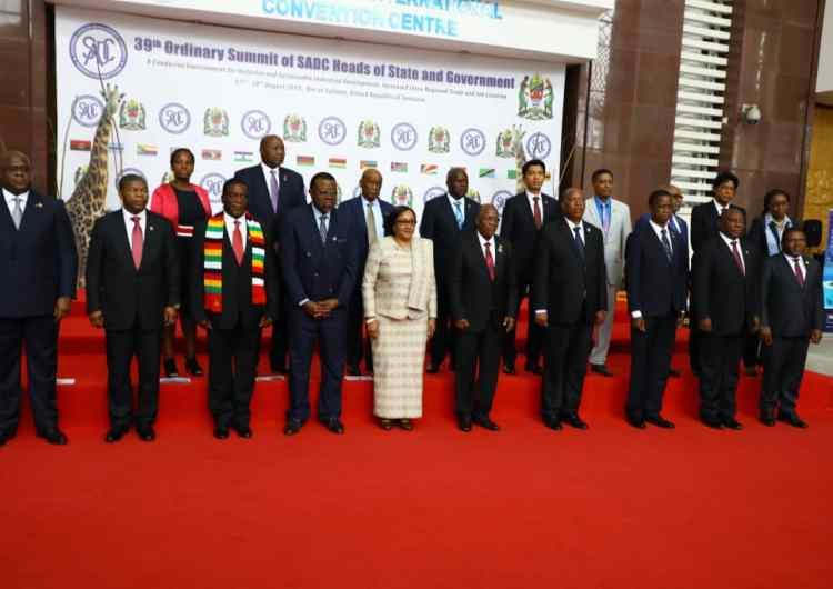 La SADC s'engage à soutenir les efforts visant la pacification de l'Est de la RDC