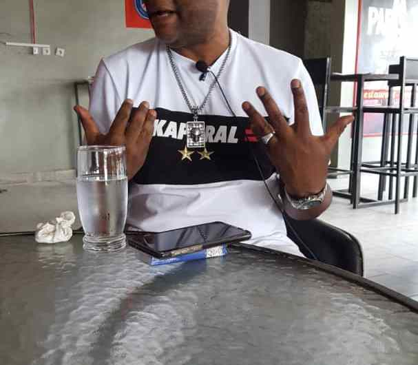 """"""" Fatshi"""", """" Cindy le Coeur"""", """"Fally"""", """" Album Eyoma"""" etc. : Sam Tshintu éventre le boa ( Interview)"""