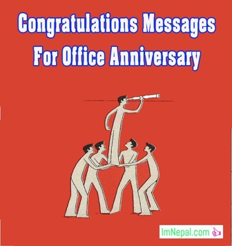 congratulations messages for office