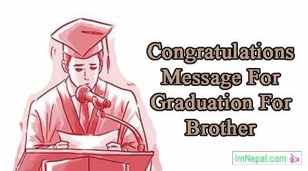 graduation congratulations message for