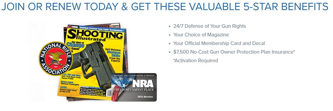 INGunOwners NRA Signup Page