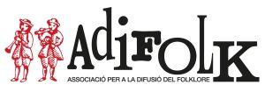 ADIFOLK - Logo vermell