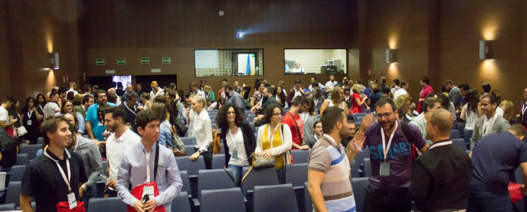 Auditorio congreso marketing online