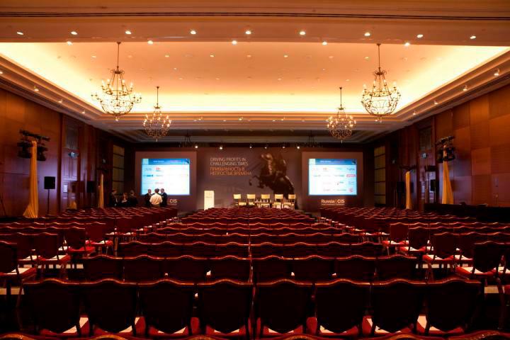 Отель Коринтия - Невский парадный зал, 525 м2