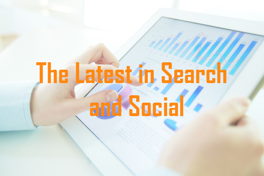 The Latest in Search and Social Media Marketing: Week of April 3-9