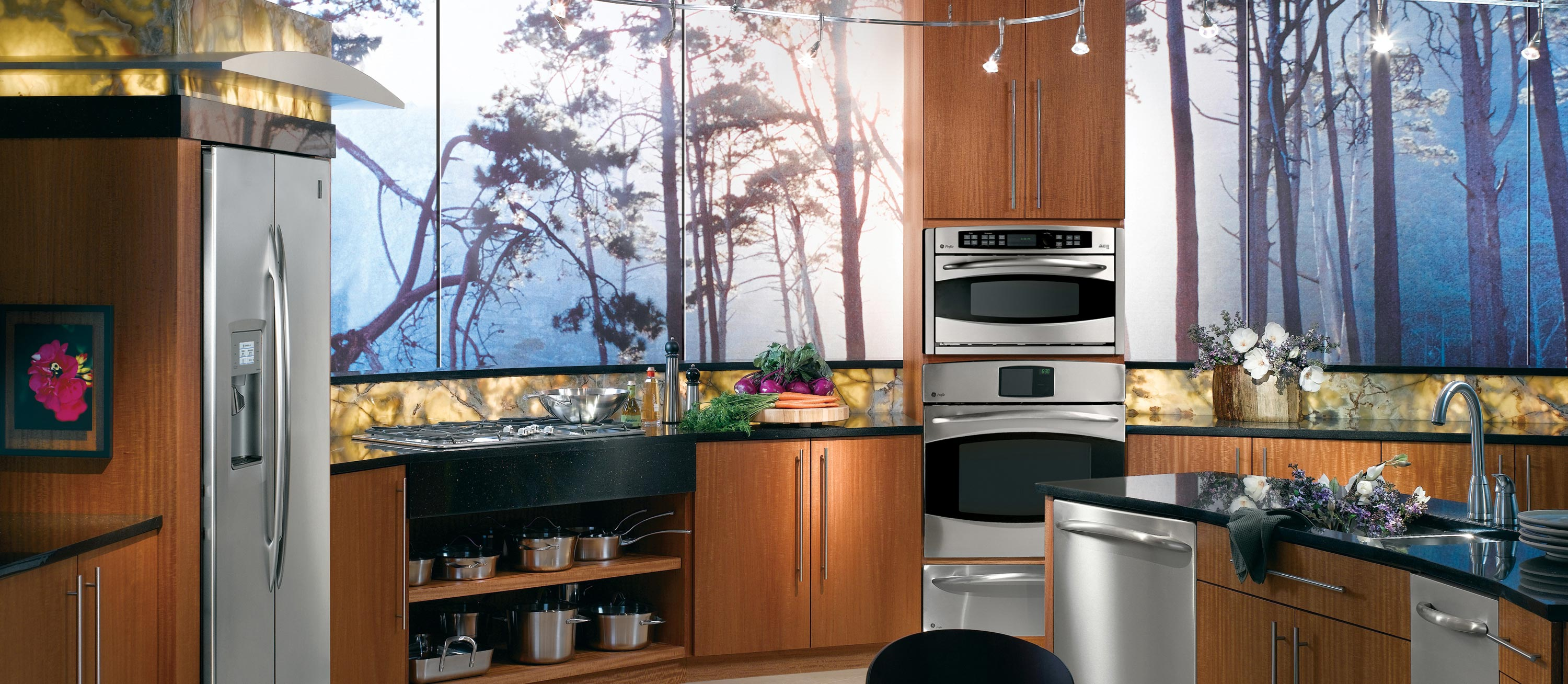ge kitchen appliances hotels with kitchens