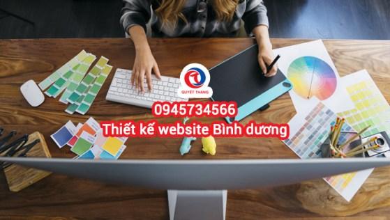 Dịch vụ thiết kế web tại dĩ an