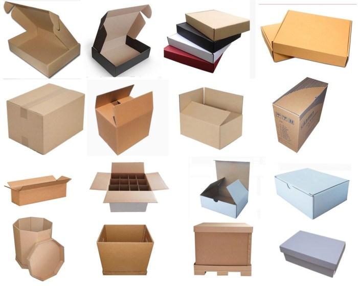 Hộp giấy carton có nhiều kích cỡ phù hợp với từng loại sản phẩm