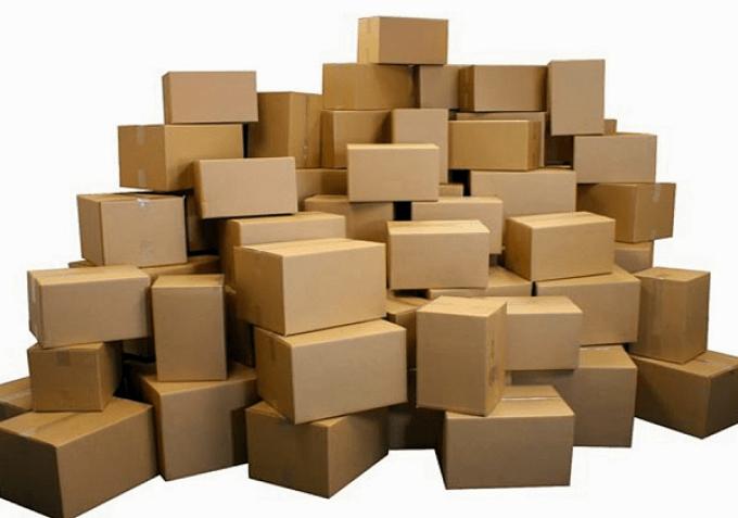 Dùng thùng carton để đóng gói hàng hóa an toàn