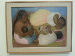 Diego Rivera, of course.