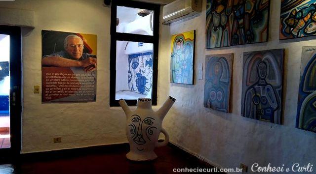 Museu da Casapueblo, obras do artista Carlos Páez Vilaró