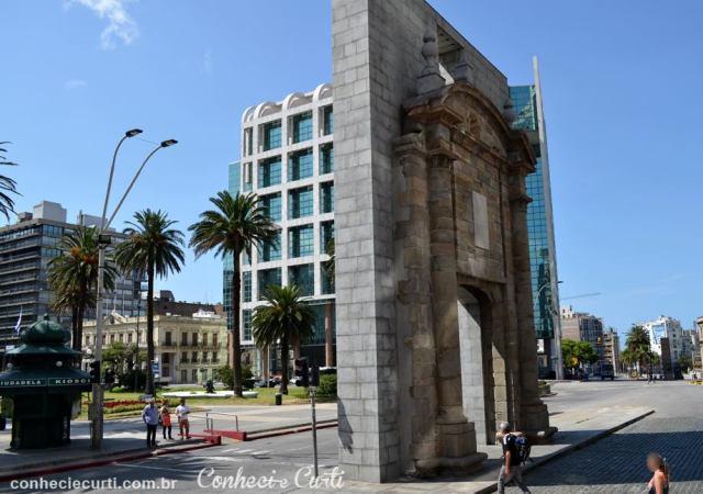 Montevidéu, Puerta de la Ciudadela.