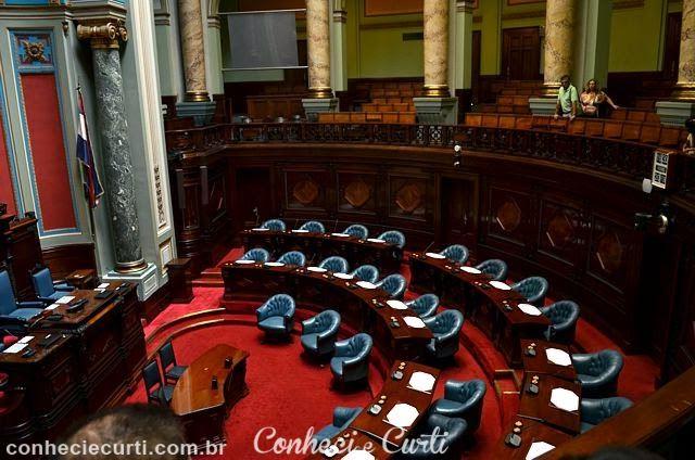 A sala do Senado