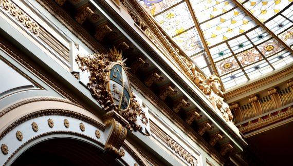 A visita guiada ao Palácio Legislativo de Montevidéu