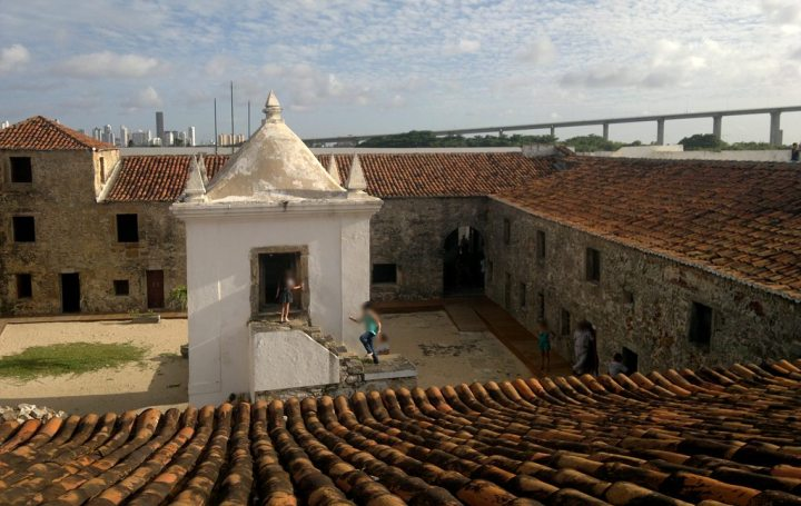 Interior da Forteza dos Reis Magos, Natal - RN