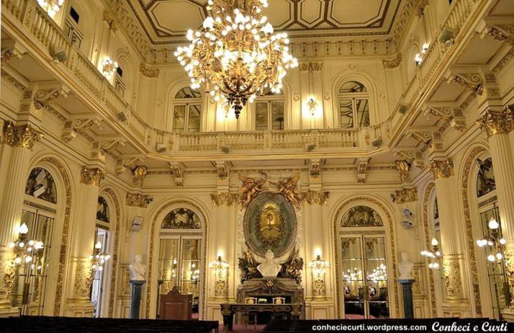 Salón Blanco na Casa Rosada.