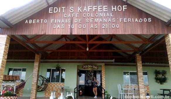 Confeitaria Edit´s Kaffee Hof - Witmarsum, Paraná