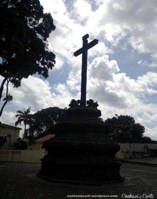 O Cruzeiro do Centro Cultural São Francisco, em João Pessoa