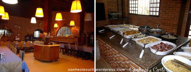 Restaurante do Hotel Fazenda Carro de Boi