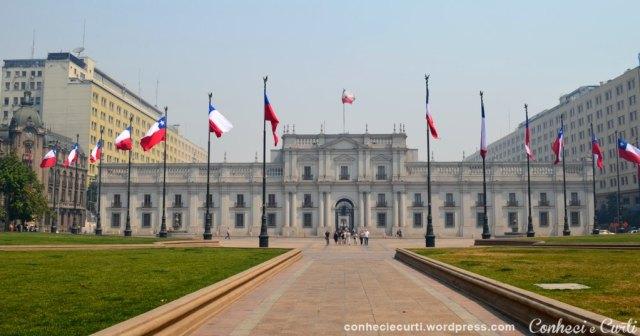 Palacio de La Moneda - sede do governo chileno, Santiago