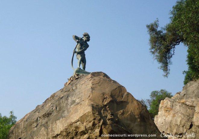Caupolicán – escultura de Nicanor Plaza