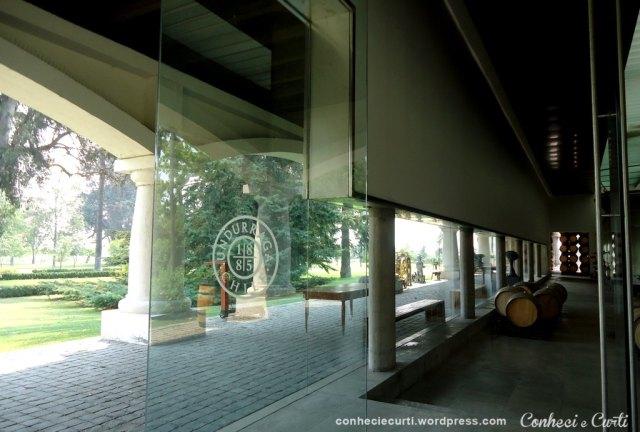 A vinícola Undurraga - Vale do Maipo, Chile