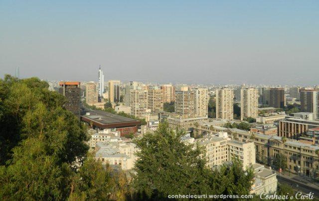 Vista da cidade - Cerro Santa Lucía. foto: Vick