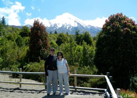 Volcan Osorno Chile, no mirante