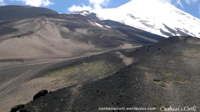 Volcan Osorno, região de Los lagos, sul do Chile