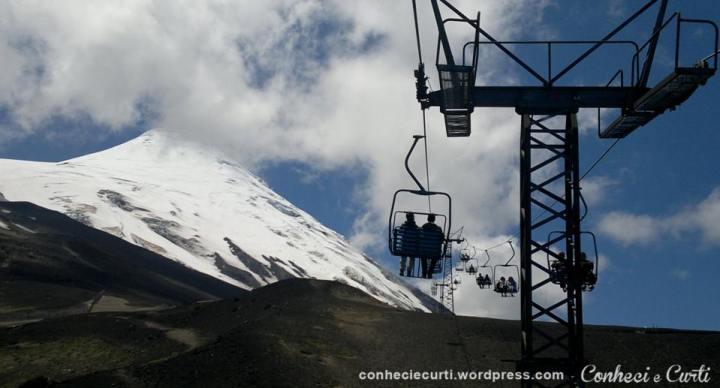 Volcan Osorno teleferico