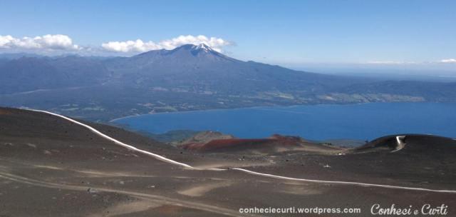 Volcan Osorno vista