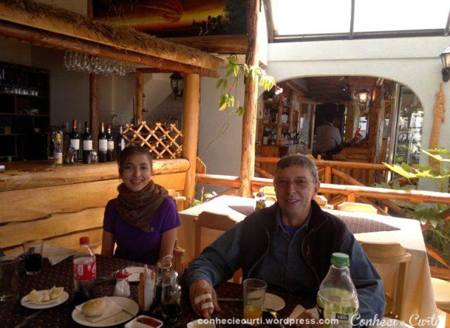 No restaurante Costa Pacífico - Pinguineras de Chiloé