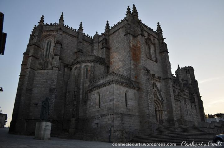 Sé-Catedral da Guarda em Guarda, Portugal.