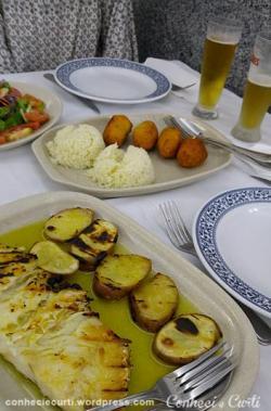Jantando em Coimbra, Portugal