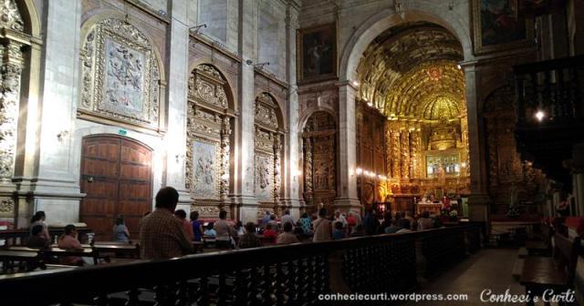 Igreja do Mosteiro de Santa Clara-a-Nova, Coimbra, Portugal.